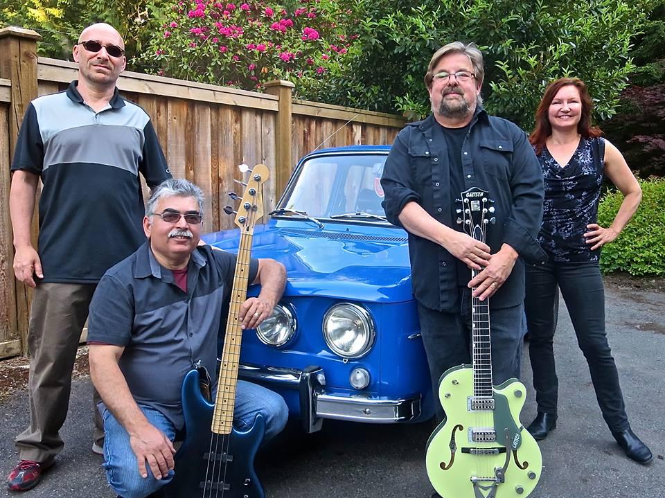 Incredibly HOT!!! rock bottom blues band latina this