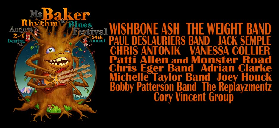 Music Festivals • Fraser Valley Blues Society